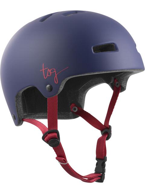 TSG Ivy Solid Color casco per bici Donna blu